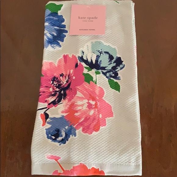 🆕Kate Spade Floral Kitchen Tea Towel Set NWT